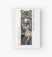 Labyrinth-Collage Notizbuch
