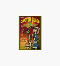 Cactus Juice Art Board