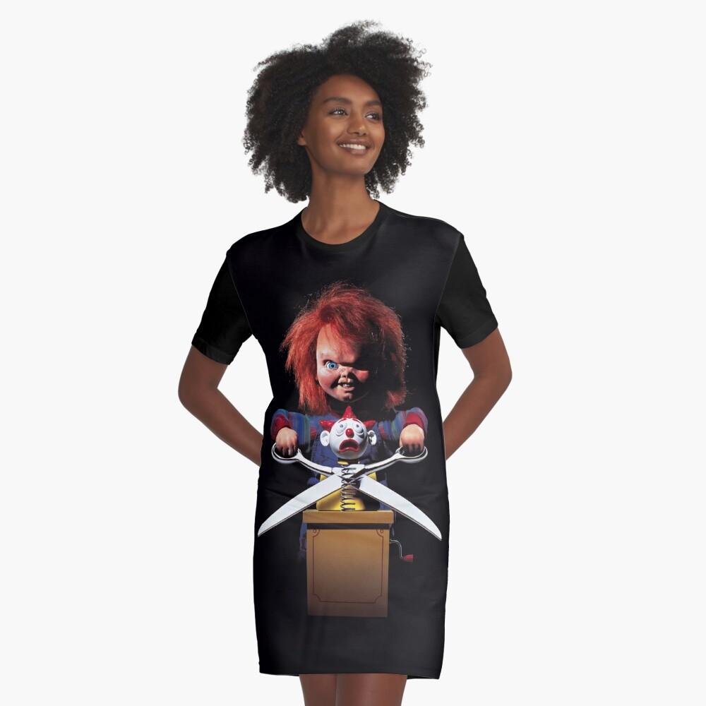 Child's Play - Chucky Graphic T-Shirt Dress