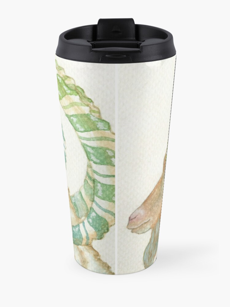 Alternate view of Magical Lucky Goat Travel Mug