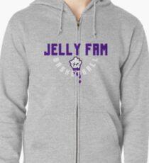 Jelly Fam Basketball Zipped Hoodie