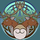 Hyddod   Stags by Aakheperure
