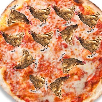 chicken pizza by Danklin