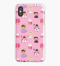 Cute Alice in Wonderland Characters Pattern iPhone Case/Skin
