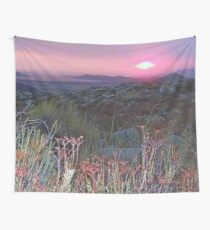 Smoking Desert Wall Tapestry