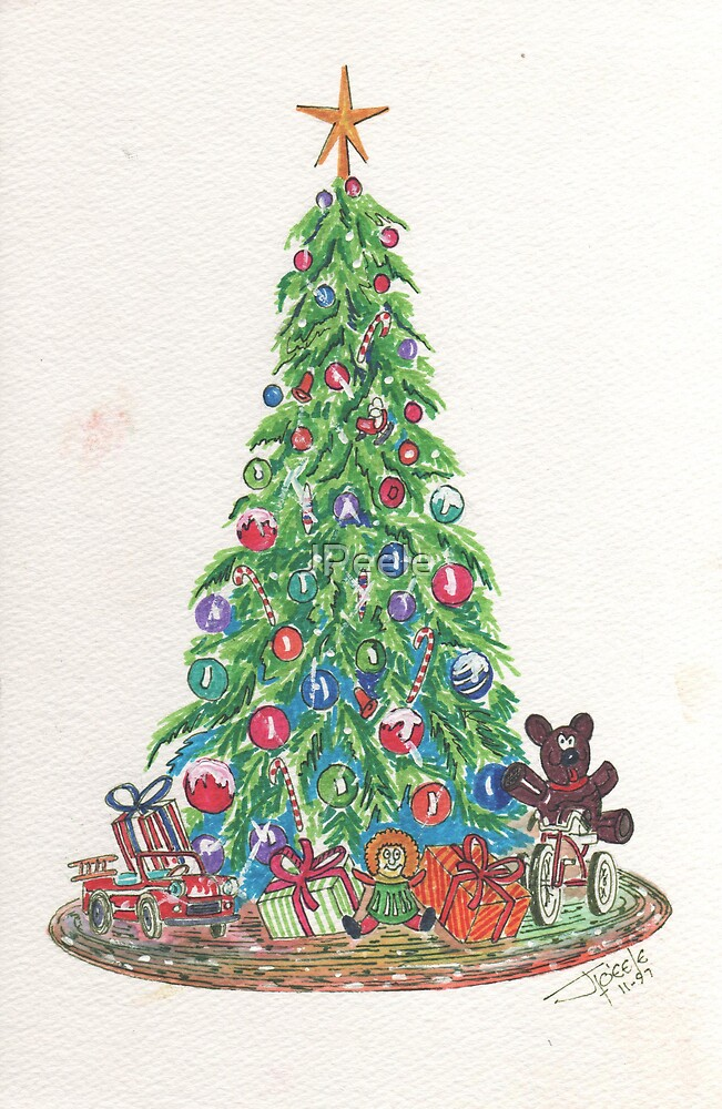 Holiday Memory's Tree by James Peele