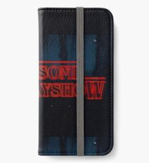 Our Logo Stranger Things Style iPhone Wallet/Case/Skin