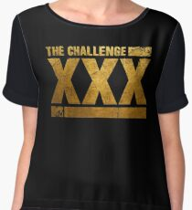 mtv challenge - the man couldn't take, the first time Women's Chiffon Top