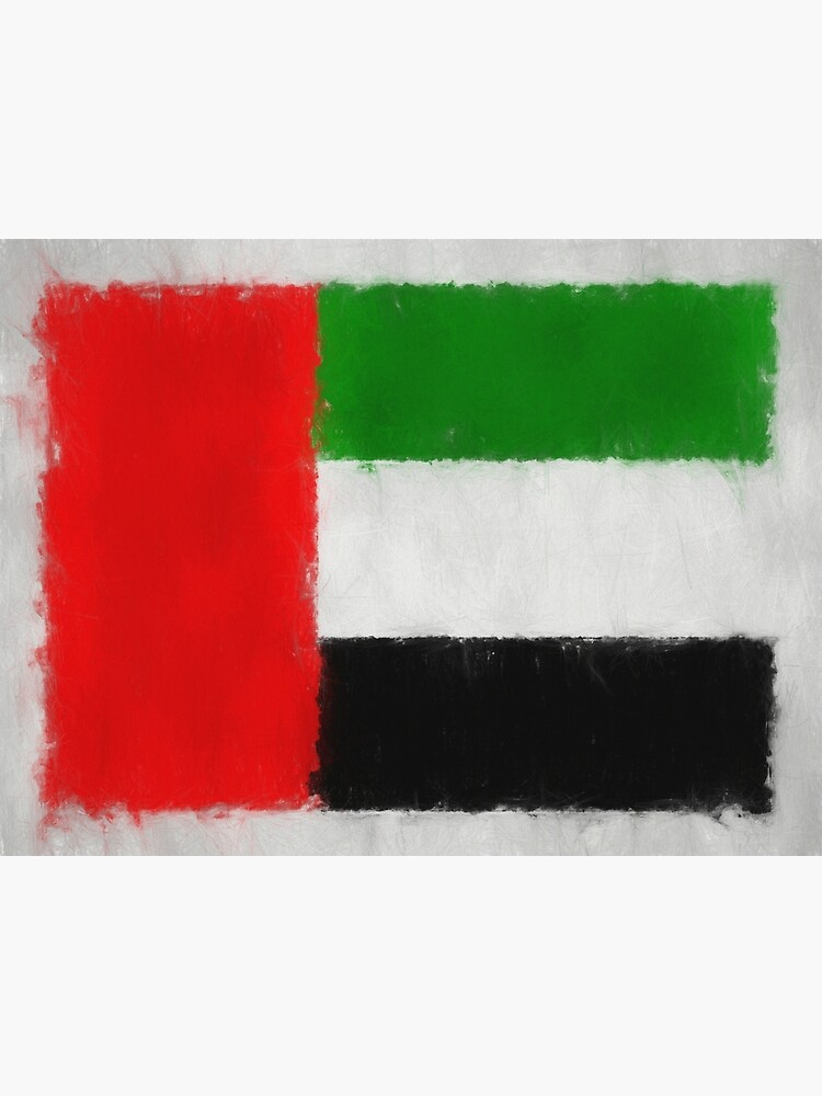 United Arab Emirates Flag Reworked No. 66, Series 3 by 8th-and-f