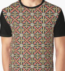 Bold geometric retro pattern designed by Christopher Dresser – State Library Victoria Graphic T-Shirt