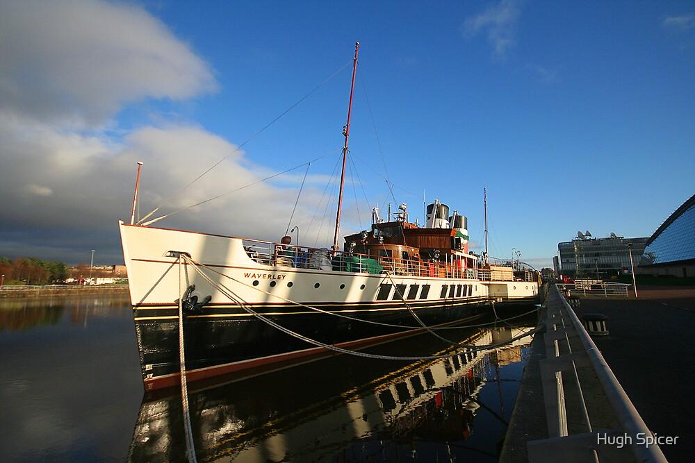 Paddle Steamer WAVERLEY by Hugh Spicer
