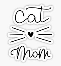Pegatina Cat Mom