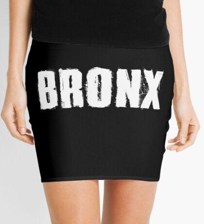 Bronx Trash Letters Mini Skirt
