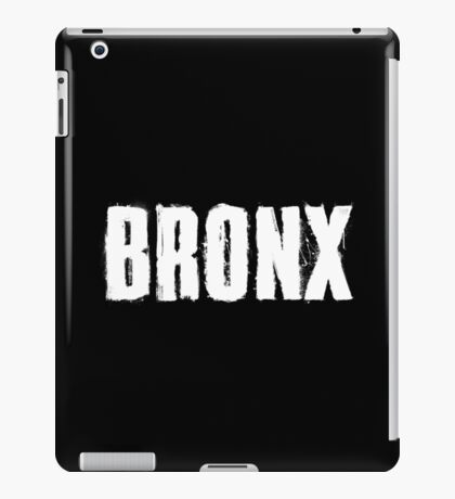 Bronx Trash Letters iPad Case/Skin