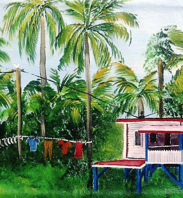 Guyana Wash Day............ by WhiteDove Studio kj gordon