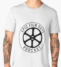 Epic Film Guys - Film Reel White Men's Premium T-Shirt
