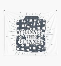 Channel the Flannel for Plaid Lovers Wall Tapestry