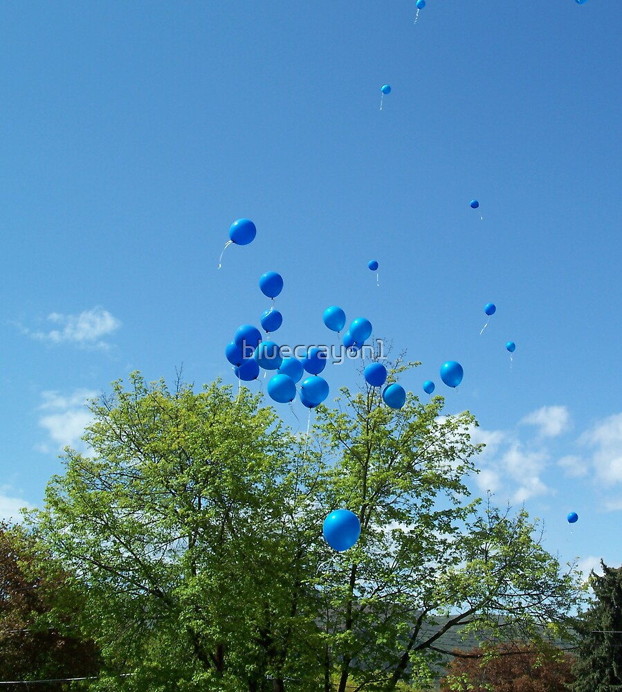 Balloons to Heaven 2 by bluecrayon1