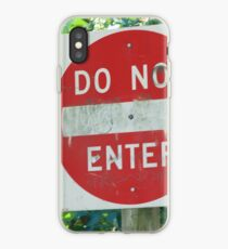 Do Not Enter iPhone Case