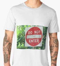 Do Not Enter Men's Premium T-Shirt