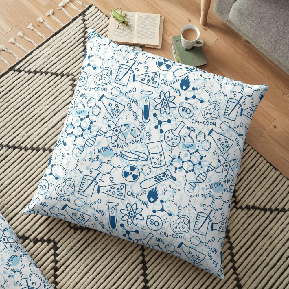 Chemistry Floor Pillow