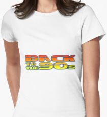 Back to the Nineties Women's Fitted T-Shirt