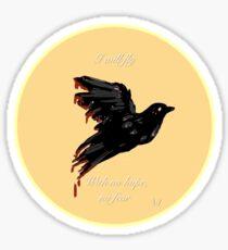 Flightless Sticker