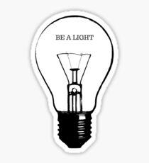 Be a Light Sticker