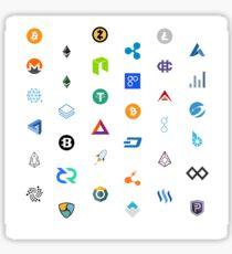 Crypto Mania Sticker