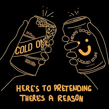 Here's to pretending there's a reason - mustard by strangerandfict