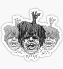 Zilla Kami Sticker
