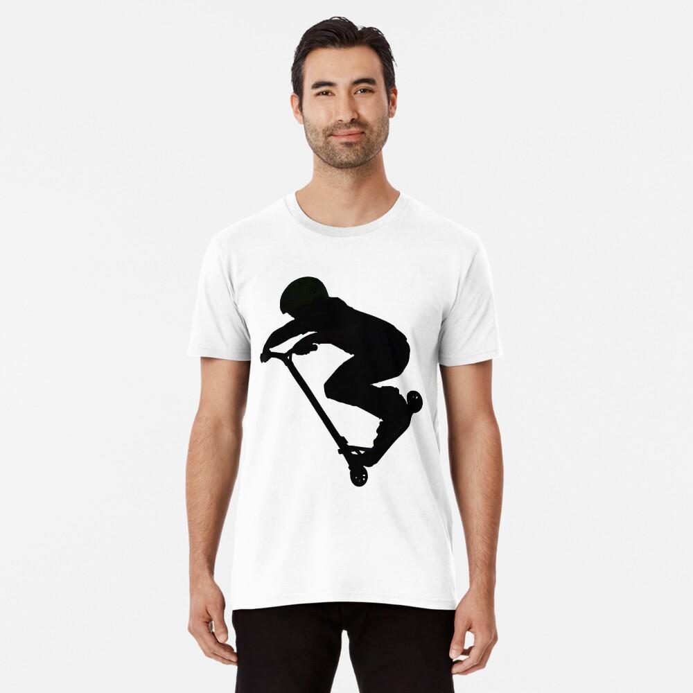 Scooter Boy 5B (no shadow) Stunt Scooter Men's Premium T-Shirt Front