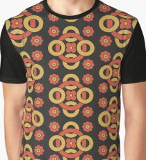 Circular vintage pattern by Christopher Dresser – State Library Victoria Graphic T-Shirt