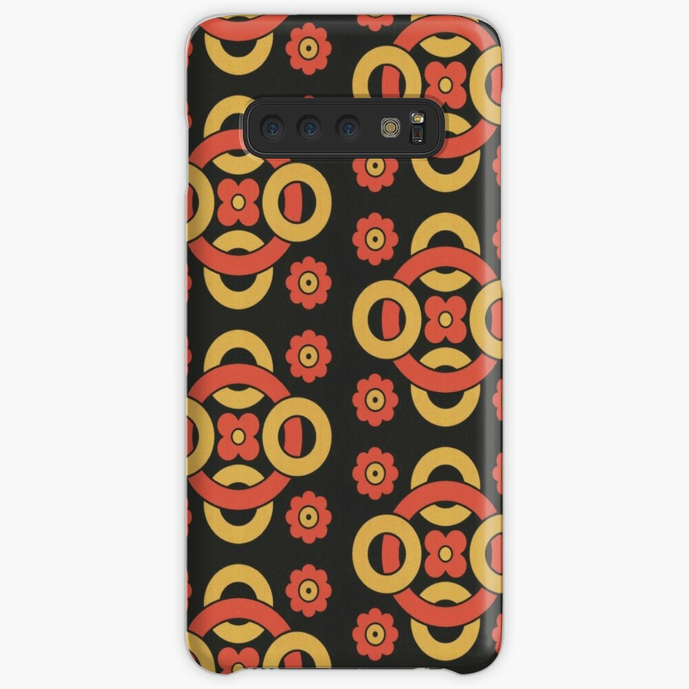 Circular vintage pattern by Christopher Dresser – State Library Victoria Cases & Skins for Samsung Galaxy