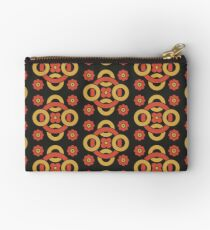 Circular vintage pattern by Christopher Dresser – State Library Victoria Zipper Pouch