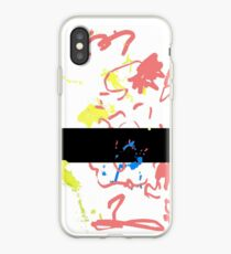 Abstract Censored Mascot iPhone Case