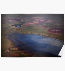 Outback Floodwater Poster