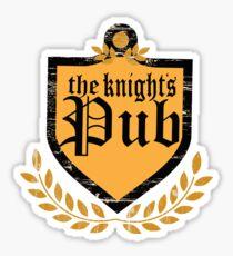 Knights Pub Sticker