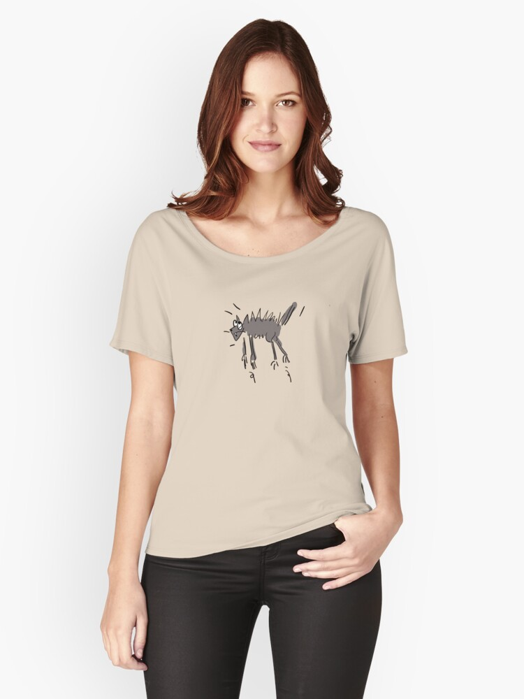 miaow!! Women's Relaxed Fit T-Shirt Front