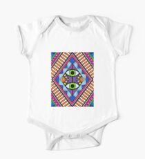 Bright Aztec/ Tribal Vector Design Kids Clothes