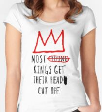 Most Young Kings Get Their Head Cut Off T-Shirt Women's Fitted Scoop T-Shirt
