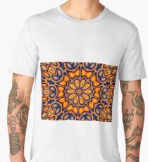 Decorative floral ornament. Men's Premium T-Shirt