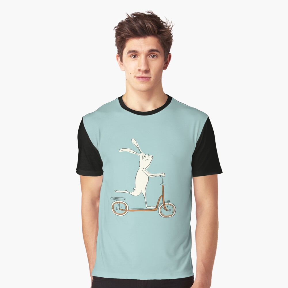 scooter - blue Graphic T-Shirt