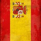Spain Flag — World Flag Series by marcodeobaldia