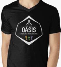 OASIS - READY PLAYER Men's V-Neck T-Shirt