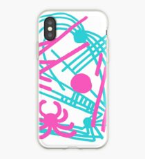 Spiders All Over (1990 Version) iPhone Case
