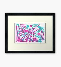 Spiders All Over (1990 Version) Framed Print