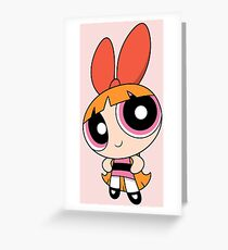 Blossom (The Powerpuff Girls) Greeting Card