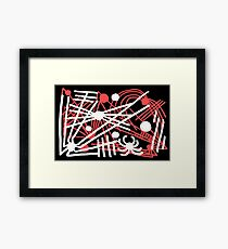 Spiders All Over Framed Print