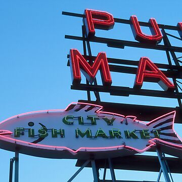 Pike Place Fish. by Fergyphotos